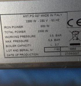 Утюг с парогенератором Lelit PG 027