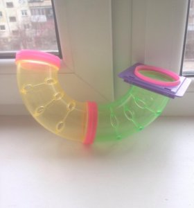 Труба в клетку