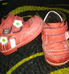 Ортопедические ботиночки panda 17 р