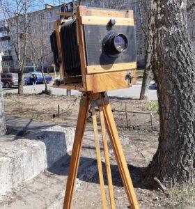 Ретро фотокамера 13x18