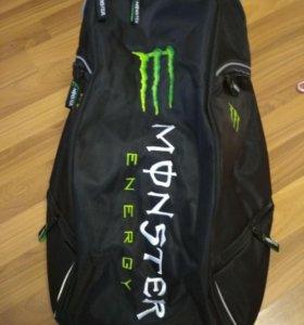Мото рюкзак monster energy новый