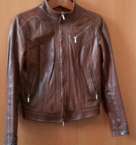 Итальянская куртка из натуральной кожи