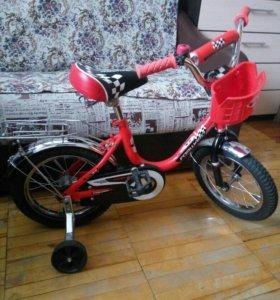 """Велосипед """"Forward"""" Racing 14 красный"""