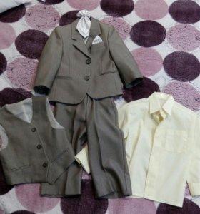 Костюм тройка + рубашка