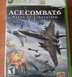 Игра Ace Combat 6 для Xbox 360.