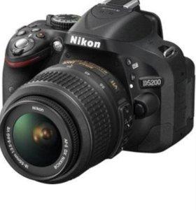 Фотоаппарат nikon d5200 объектив 18-55
