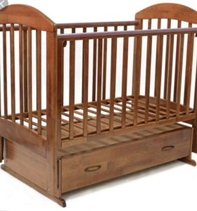 Кроватка с матрасом