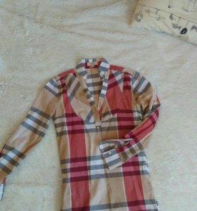 Рубашка туника burberry