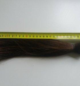 Волосы натуральные, срез 27см