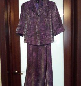 Вечернее платье костюм. р-р 44-46