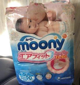 Подгузники moony 90 шт (0-5кг)