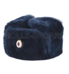 Зимняя шапка сотрудника МВД