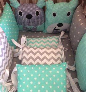 Комплекты в кроватку для малыша