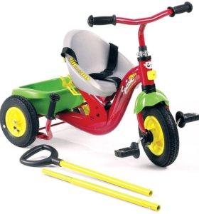 Велосипед с ручкой Rolly Toys Swing Vario