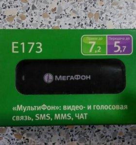 USB 3G модем МегаФон (Huawei E173) чёрный
