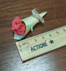 Мини букетик роз