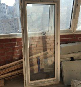 Новое пластиковое окно