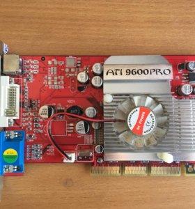 Видеокарта ati 9600pro 128мб