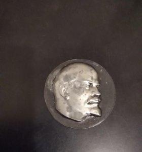 Монета Ленина