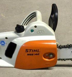 Электропила stihl mse 140