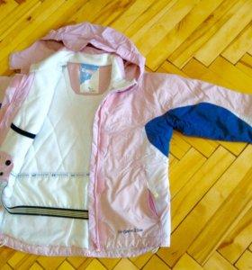 Куртка детская б/у , размер 128
