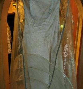 Вечернее/свадебное платье, размер 48-50