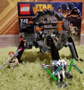 лего Star Wars Машина генерала Гривуса