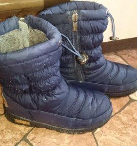 Торг Ботинки зимние дутики