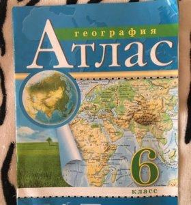 География Атлас 6 класс