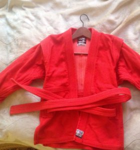 Кимоно, куртка самбо детская.