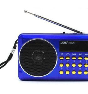 Радиоприемник FM (3W/USB/MicroSD/AUX)