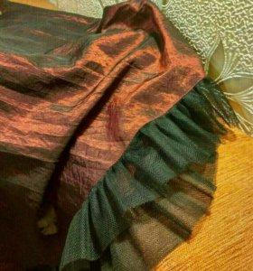 Праздничная юбка из тергалета