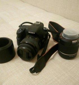 Sony a58 18-55, 55-200