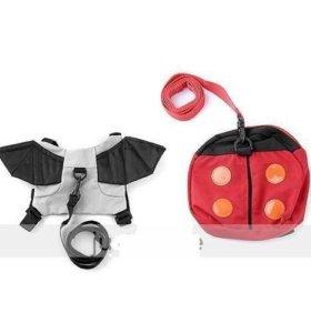 Детский рюкзак - вожжи для самых маленьких