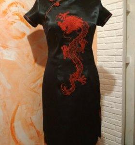 Платье в востосном стиле