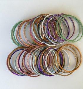 Продаю набор браслетов из Индии (48 шт.)