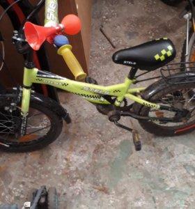 Детский велосипед стелс 14р