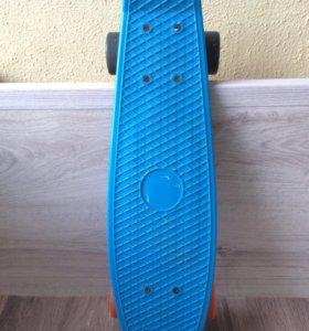Пенниборд скейтборд б/у. В отличном состоянии.