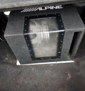 Саб alpine, усилок kiks и накопитель