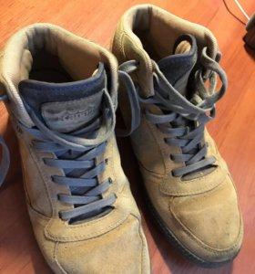 Ботинки замша Kappa