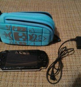 Sony PSP 3008 прошивка 6.61.флешка 8Gb чехол.