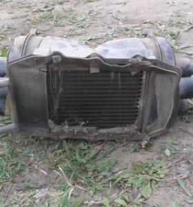 Печка отопитель газ кавз паз