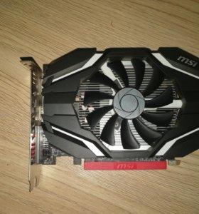 Видеокарта AMD RX 460.