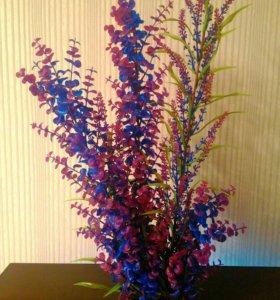 Декор, растение искусственное для аквариума