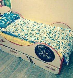 Кровать детская, «Турбо»