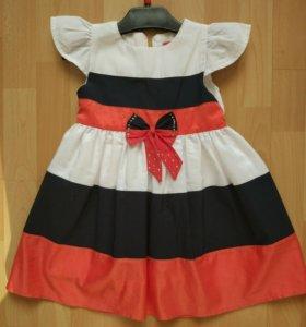 Платья, футболки для сада на 4-5 лет
