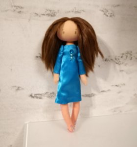 Кукла тильда со съемной одеждой