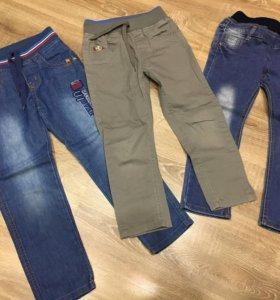 Модные джинсы и летние брюки