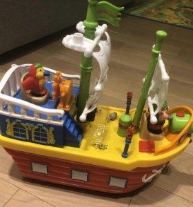 Пиратский корабль киддиленд