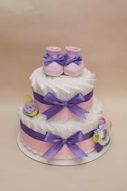 Торт из памперсов 🎂